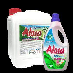 Гель-концентрат для стирки (ЭКО) «Alosa» для всех видов тканей
