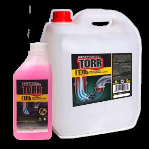 Средство для прочистки канализационных труб  «TORR» гель