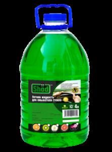 Летняя жидкость для омывателя стекла TM «Shod» 4л